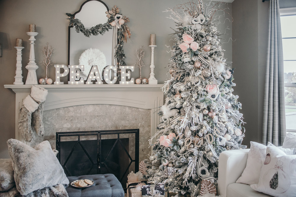 Here Comes Santa Blogger Home Tour 2016 House Of Five