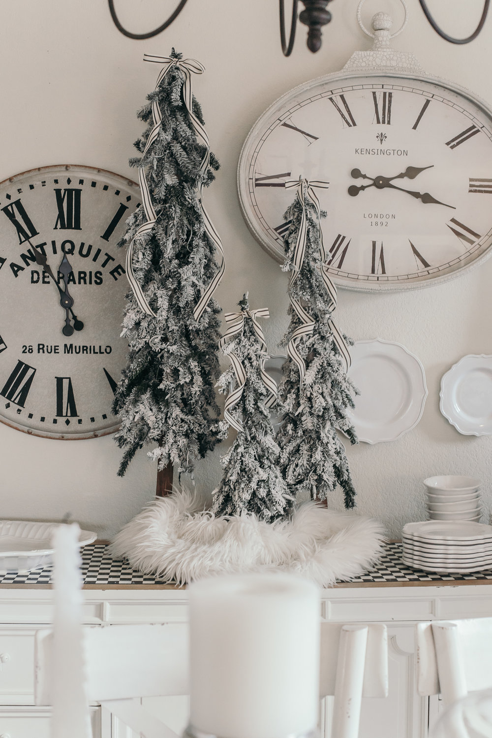 Christmas Decor Ideas - House of Five - Mad Hatter Tea Cup Tree