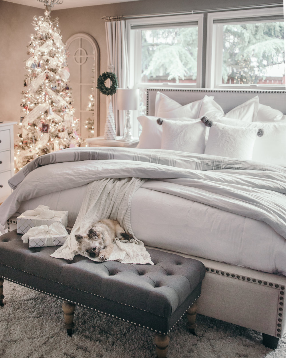 Christmas Decor For Bedroom Holiday Home Tour Christmas Decor Ideas