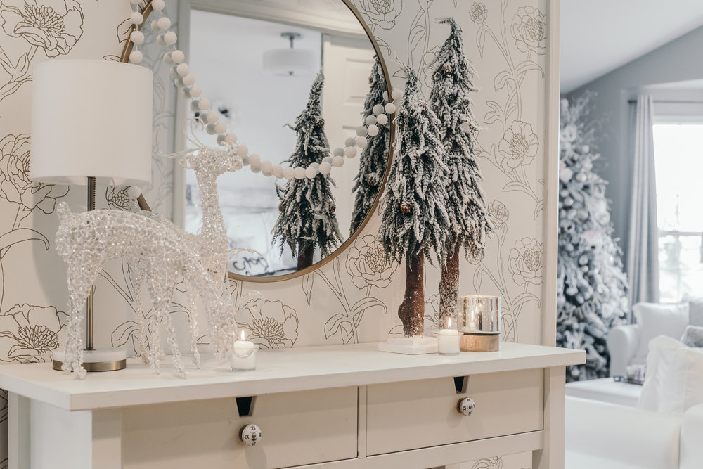 Christmas Decor Ideas - House of Five - Entry