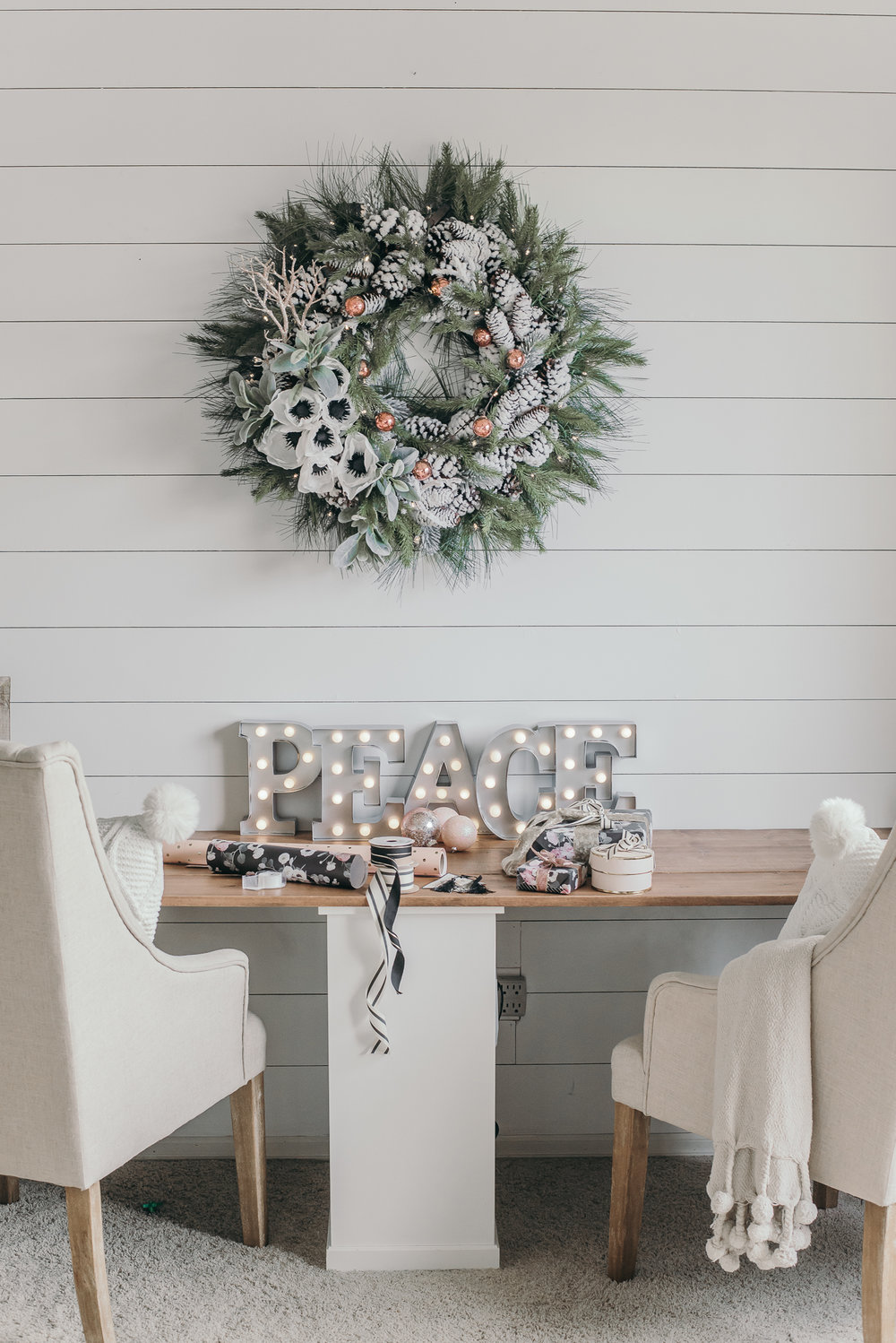 Holiday Home Tour: Christmas Decor Ideas — HOUSE OF FIVE