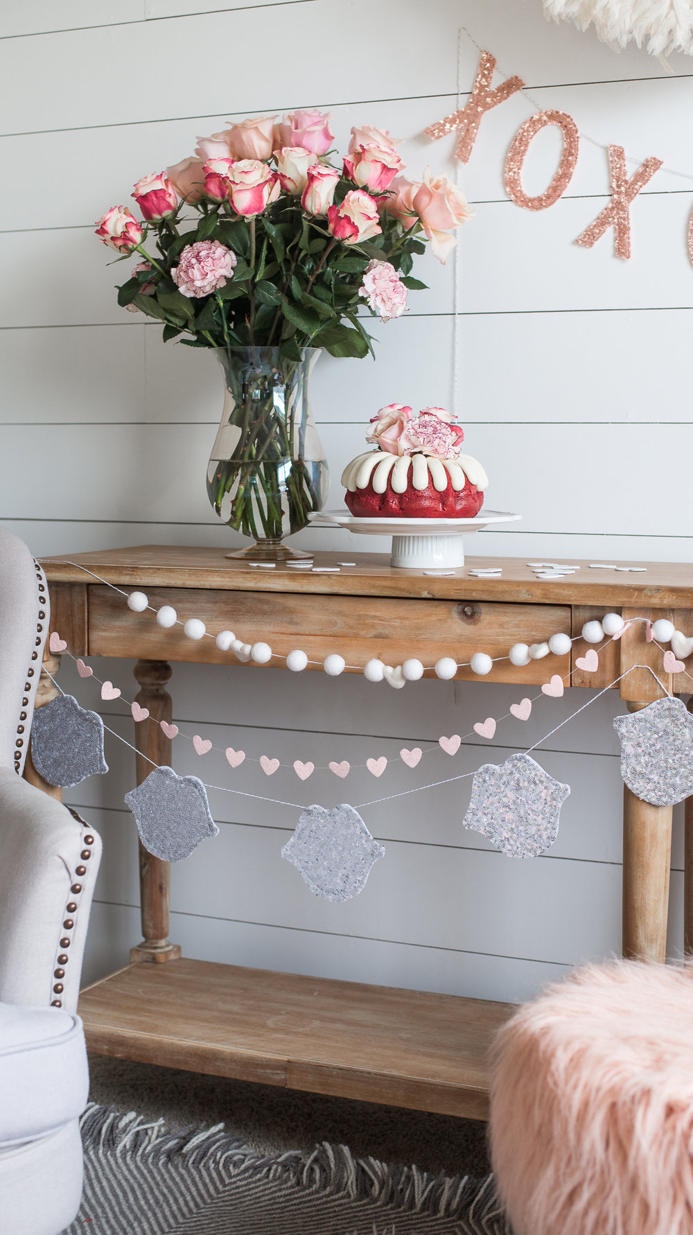 Valentines Day Easy Simple Party Decor