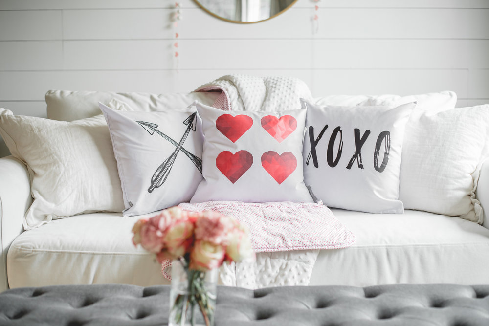 So Vintage Chic Valentines Day Pillows