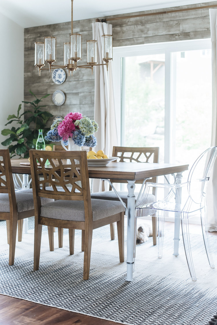 Modern Rustic Dining Room Chairs modern rustic dining nook in the new house — house of five