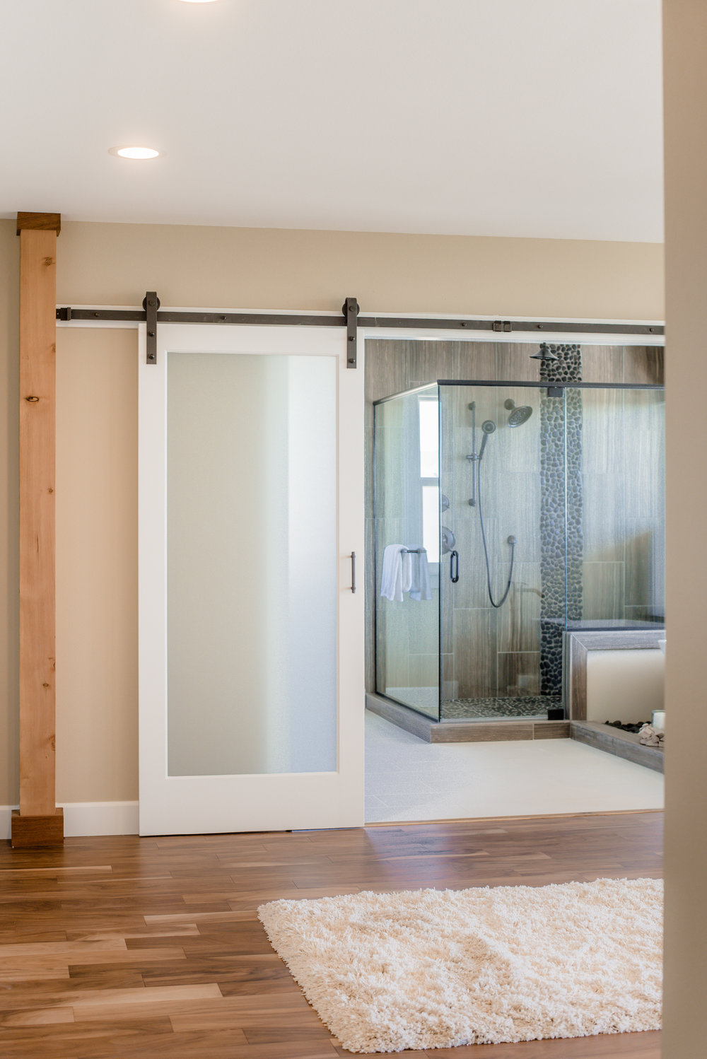 Master Bathroom Entry