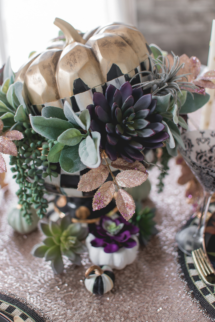 Autumn Fall Tablescape with MacKenzie-Childs