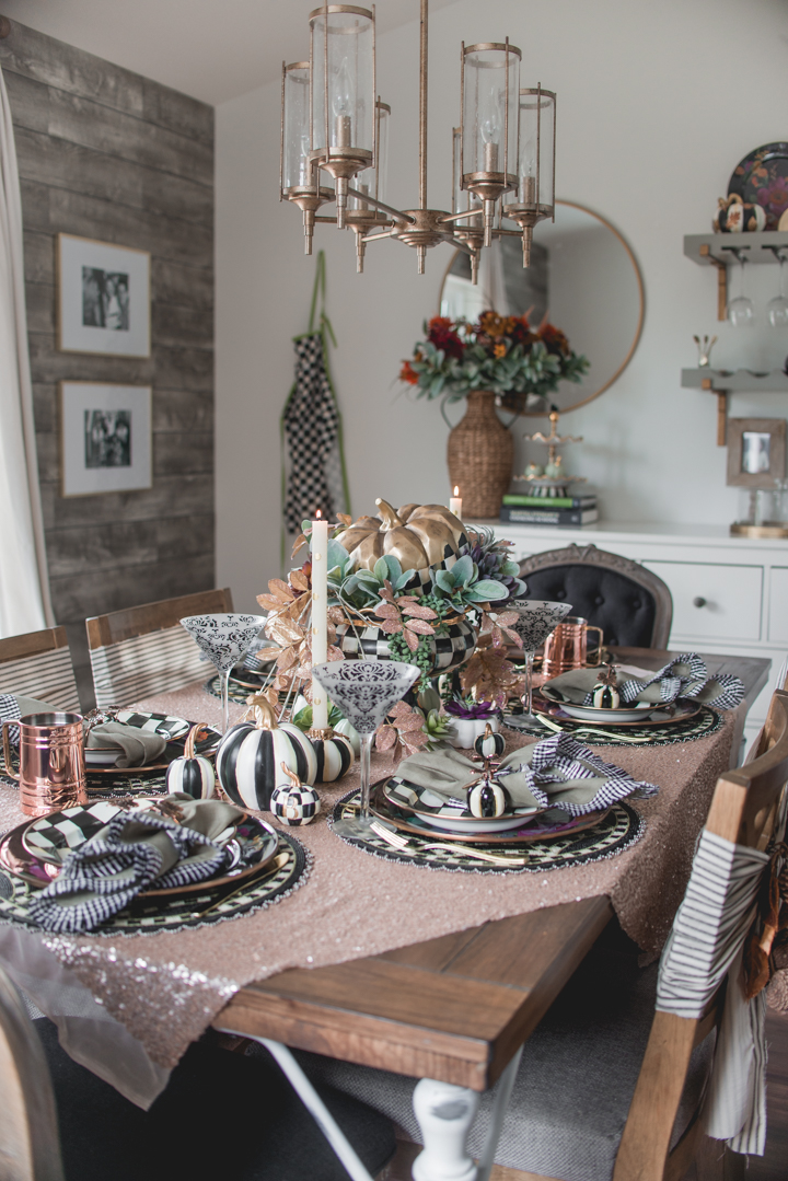 Autumn Fall Table with MacKenzie-Childs