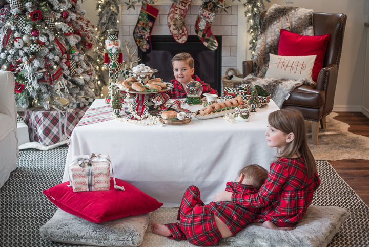 Christmas Morning Tablescape with MacKenzie-Childs