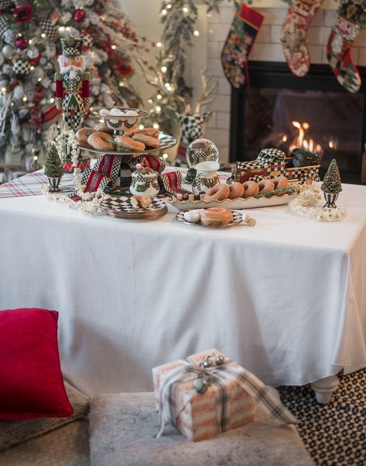 Traditional Christmas Breakfast Table - MacKenzie-Childs