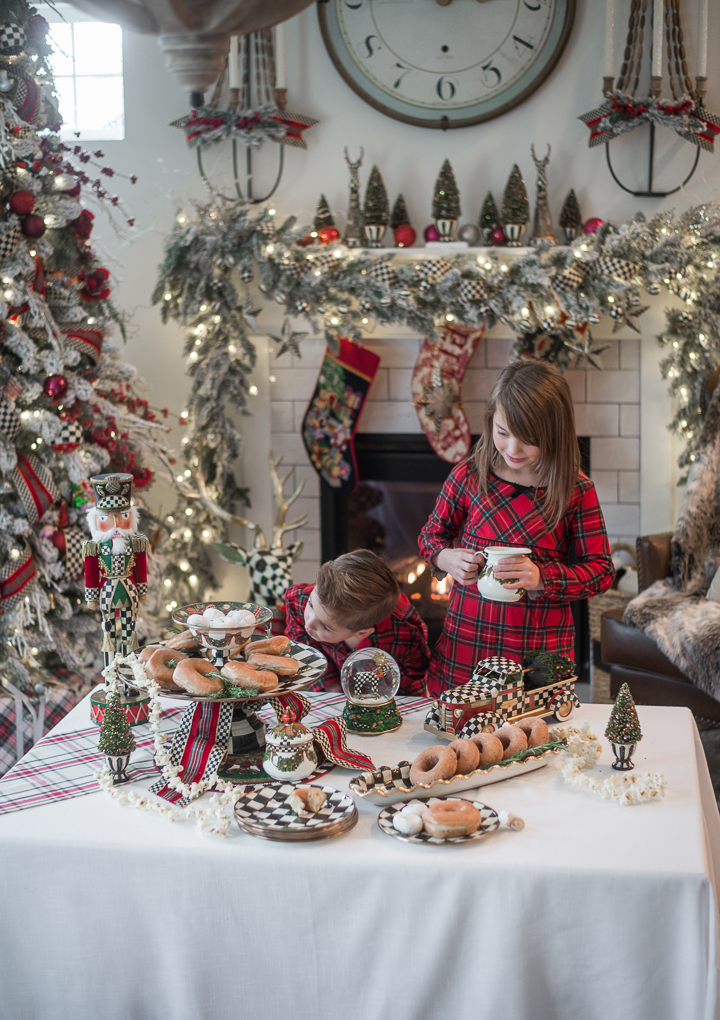 MacKenzie-Childs Christmas Morning Tablescape