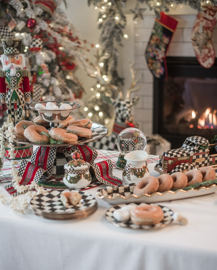 MacKenzie-Childs Christmas Morning Breakfast Tablescape