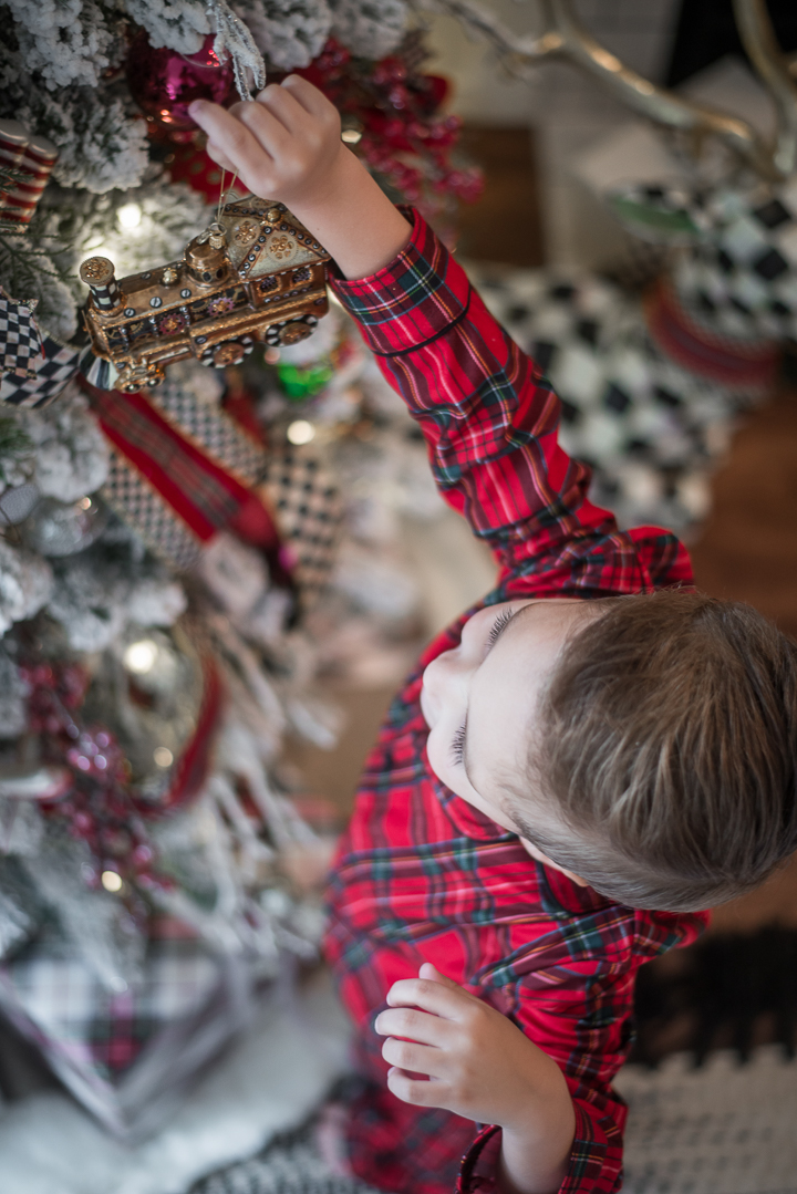 MacKenzie-Childs Christmas Tree Decor