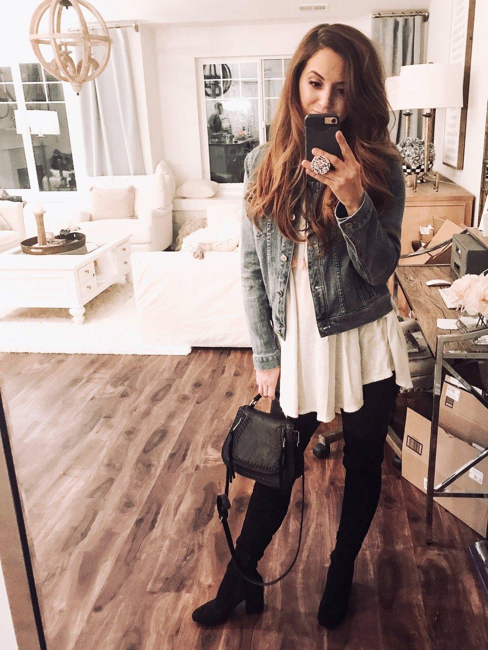 @Houseof5five closet staple - favorite jean jacket