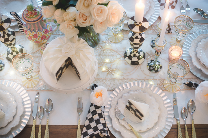 Intimate Table Setting with the Sweetbriar Collection — HOUSE OF FIVE