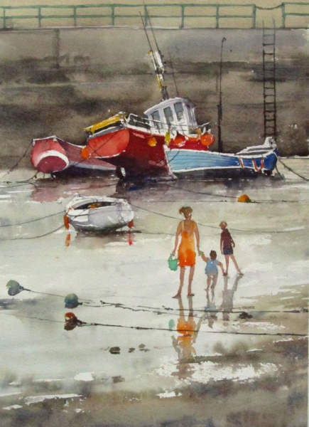 Low Tide, Staithes