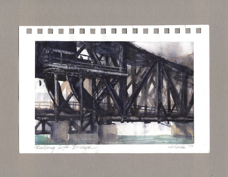 Rolling Lift Bridge study
