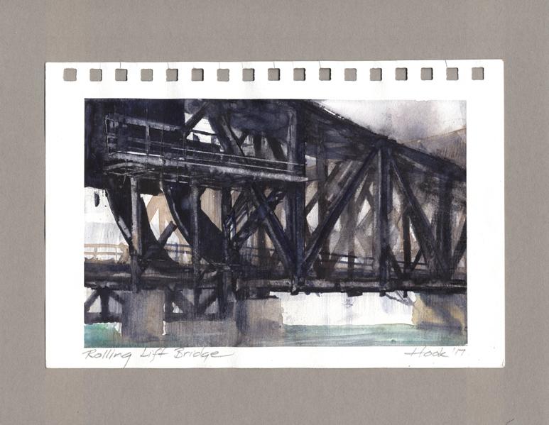 186-54  Rolling Lift Bridge study