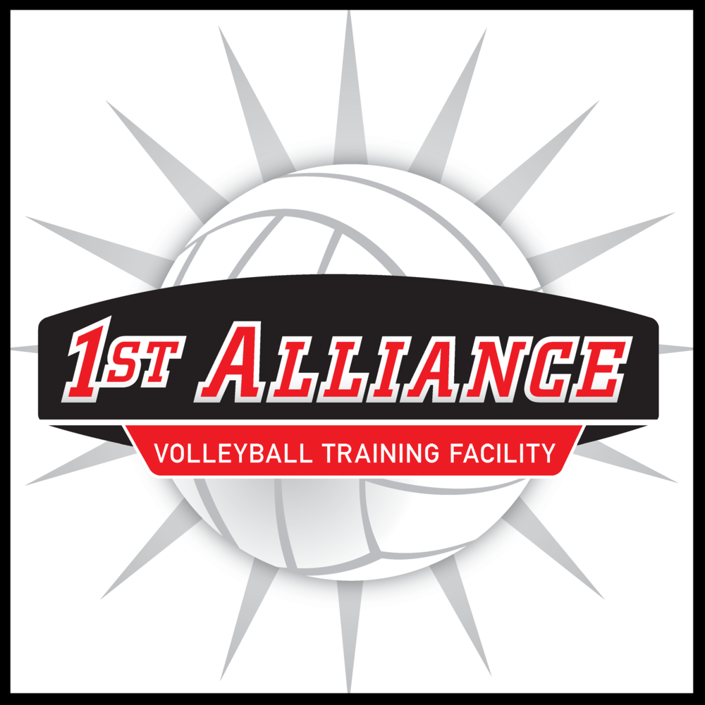 1st Alliance Volleyball Training Facility Logo