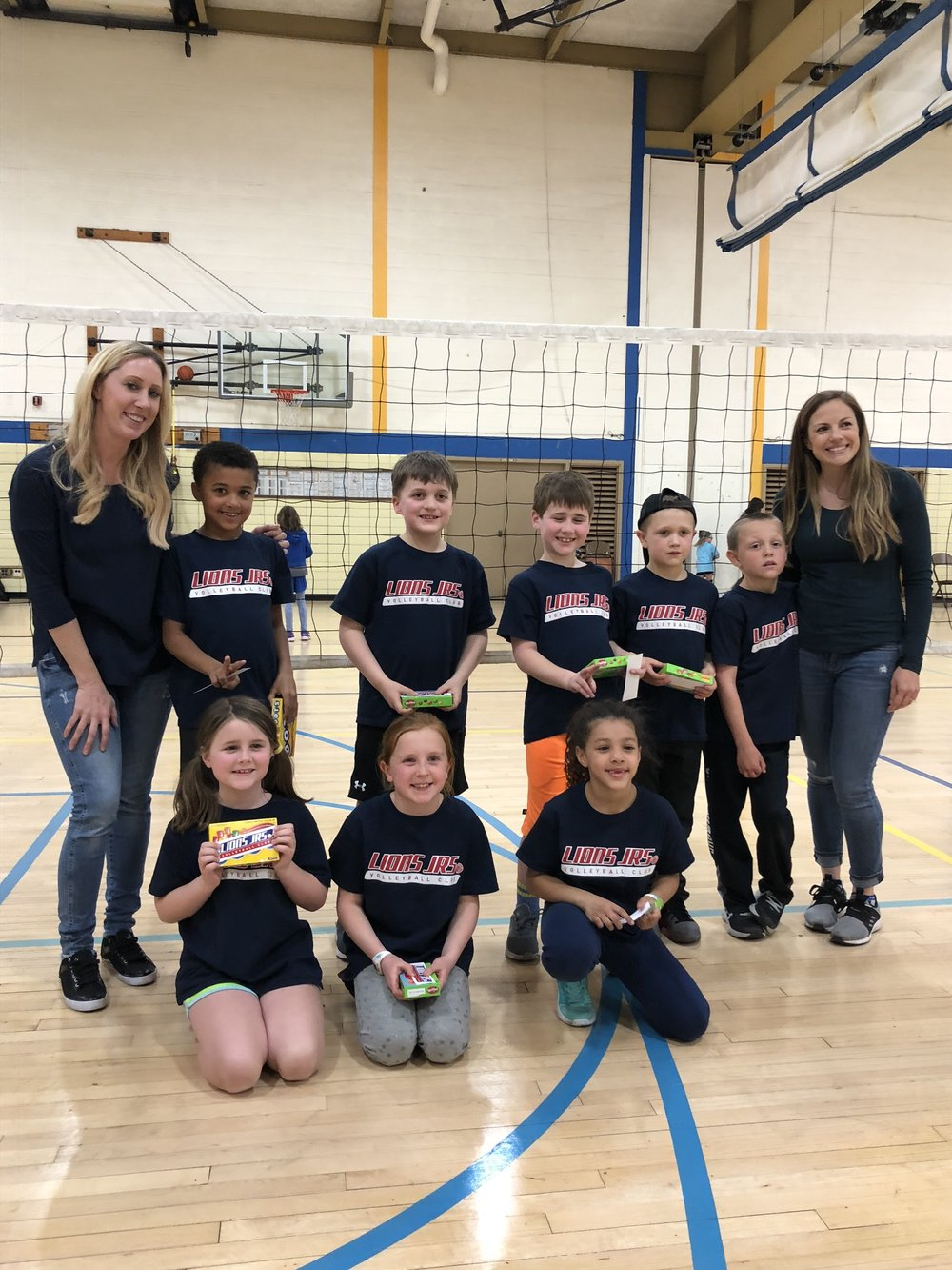 Congrats to our 1/2nd Grade Winter Champions! -