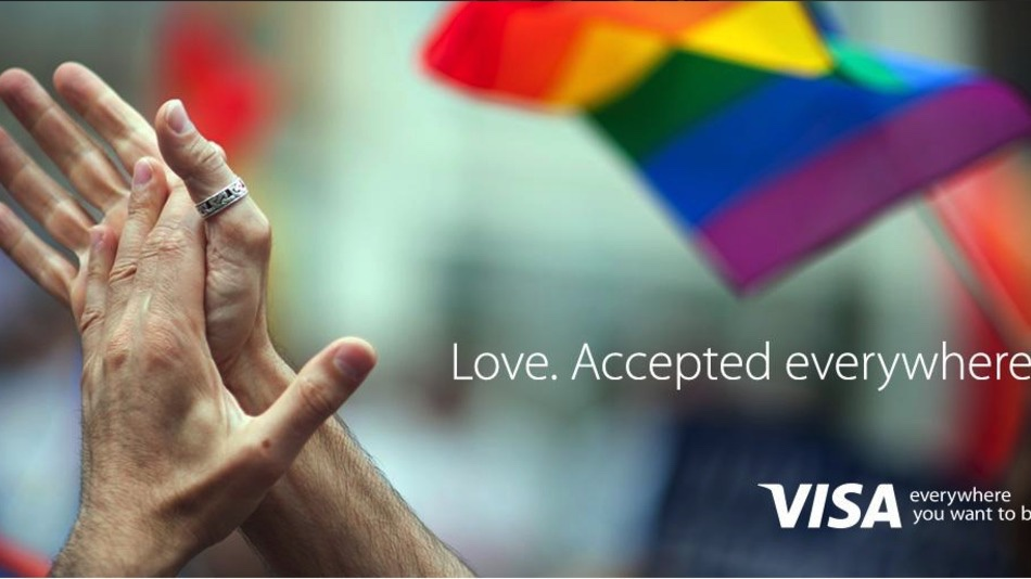 Historic campaign.     http://mashable.com/2015/06/26/brands-gay-marriage-legalized/