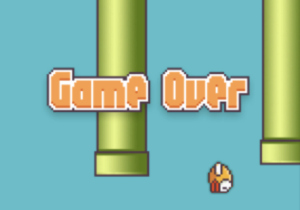 "Hard to believe – and much like its game mechanic – Flappy Bird came and went extremely fast.  Read the news yesterday and told my kids… of course they were worried it would be off their phone or something and rushed to play it.  Obviously, it wasn't gone, but it was interesting to see the harsh pixilation and the ""Mario"" pipes and some of the transitions were updated/changed.  Feels more like legal threats than just a lifestyle choice.   Anyway, if you live off the grid:     http://techcrunch.com/2014/02/09/flappy-bird-remove-from-app-store/"