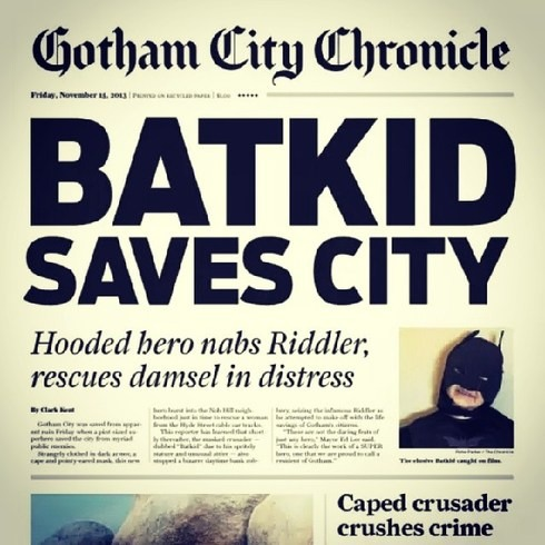 Storify is built for this:     http://storify.com/KQED/batkid-saves-san-francisco
