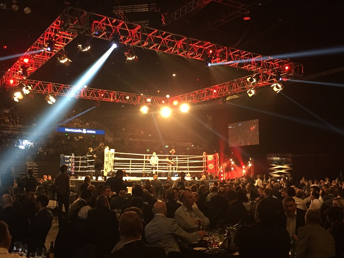 Joseph Parker V Soloman Haumono at Horncastle Arena July 2016