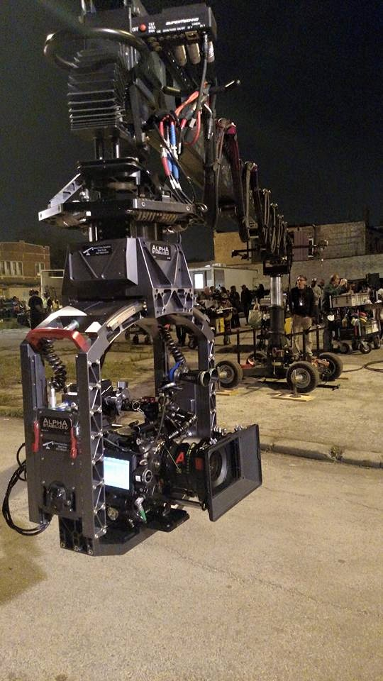 Alpha Stabilized 3 Axis remote head on ST-30