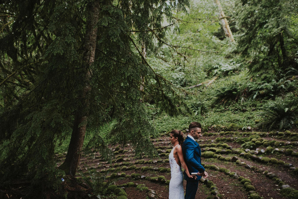 Mt. Rainier Wedding
