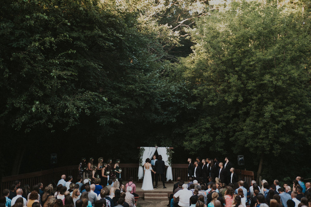 Outdoor Midwest Wedding