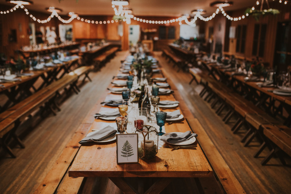 Oregon Camp Wedding