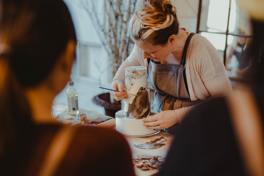 Jasmine Rae Cakes Workshop - Seattle