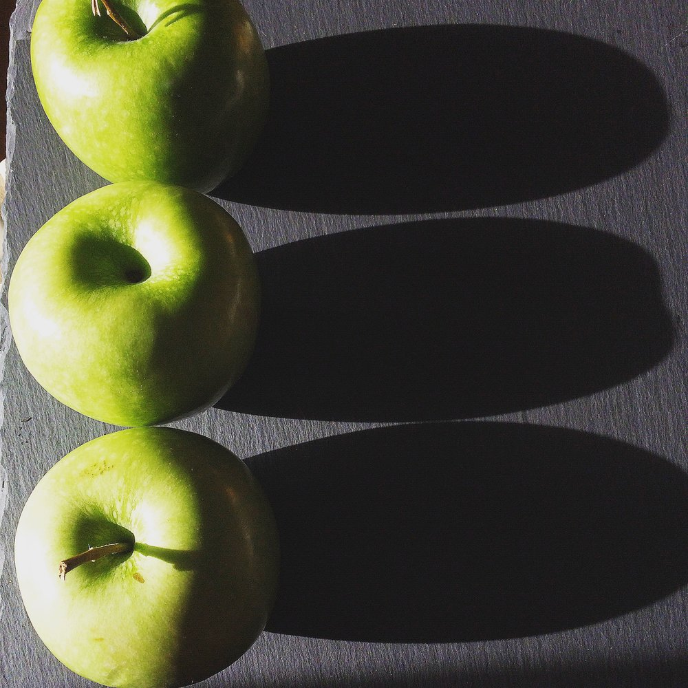 Select a hearty baking apple such as Granny Smith, Honeycrisp, Braeburn