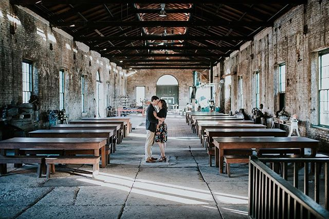 Look at this badass engagement session location ^ Hitting the website TONIGHT. I am so in love with this session, tons of different locations/vibes and poses, same beautiful couple.