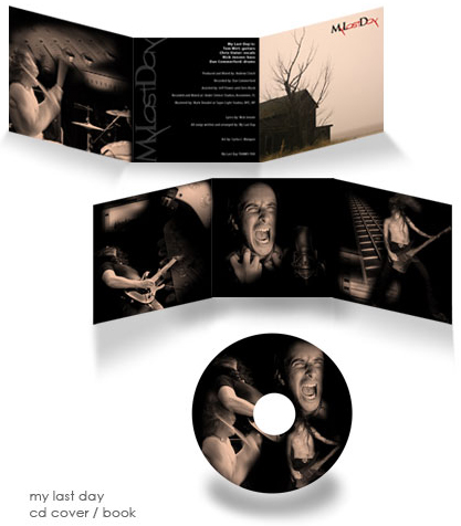 cd & book design