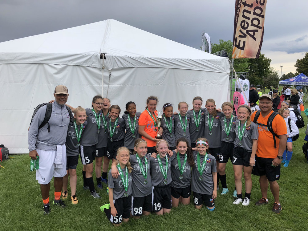 Indie Chicas 06 - U13 Champions (*played up an age group)