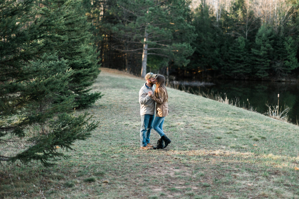 Horse Farm Engagment - Sabrina Leigh Studios - Northern Michigan Wedding Photographer 09.jpg