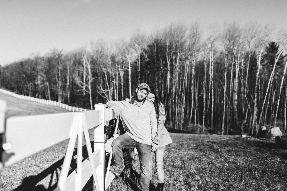 Horse Farm Engagment - Sabrina Leigh Studios - Northern Michigan Wedding Photographer 39.jpg