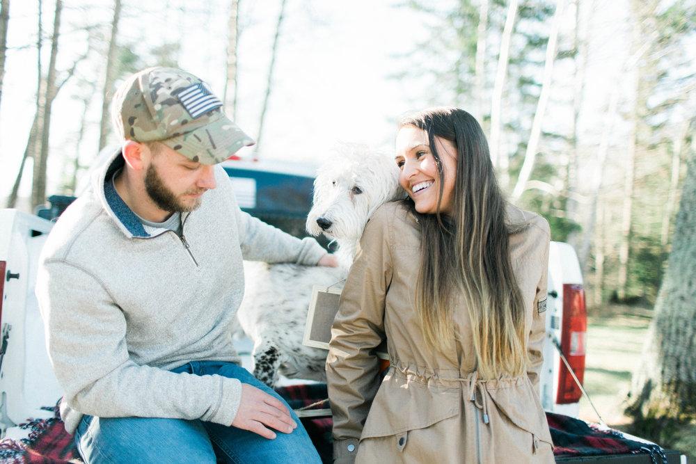 Horse Farm Engagment - Sabrina Leigh Studios - Northern Michigan Wedding Photographer 40.jpg