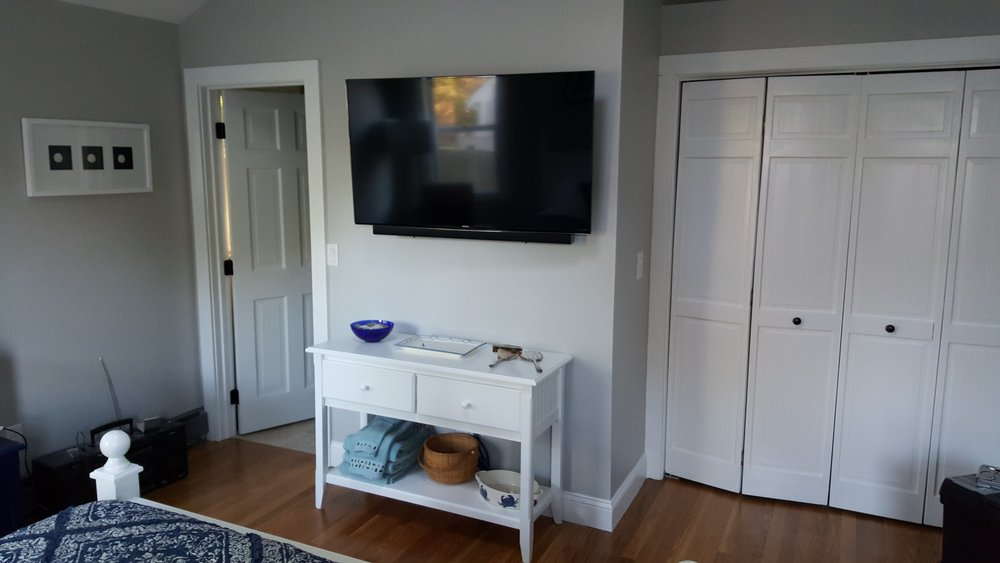 A Cape Cod home audio and video system by New England Home Automation