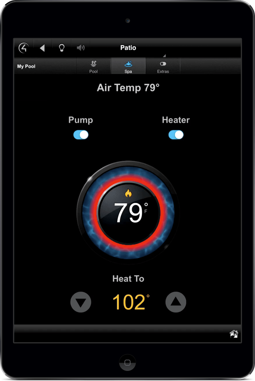 Climate Control from Ipad