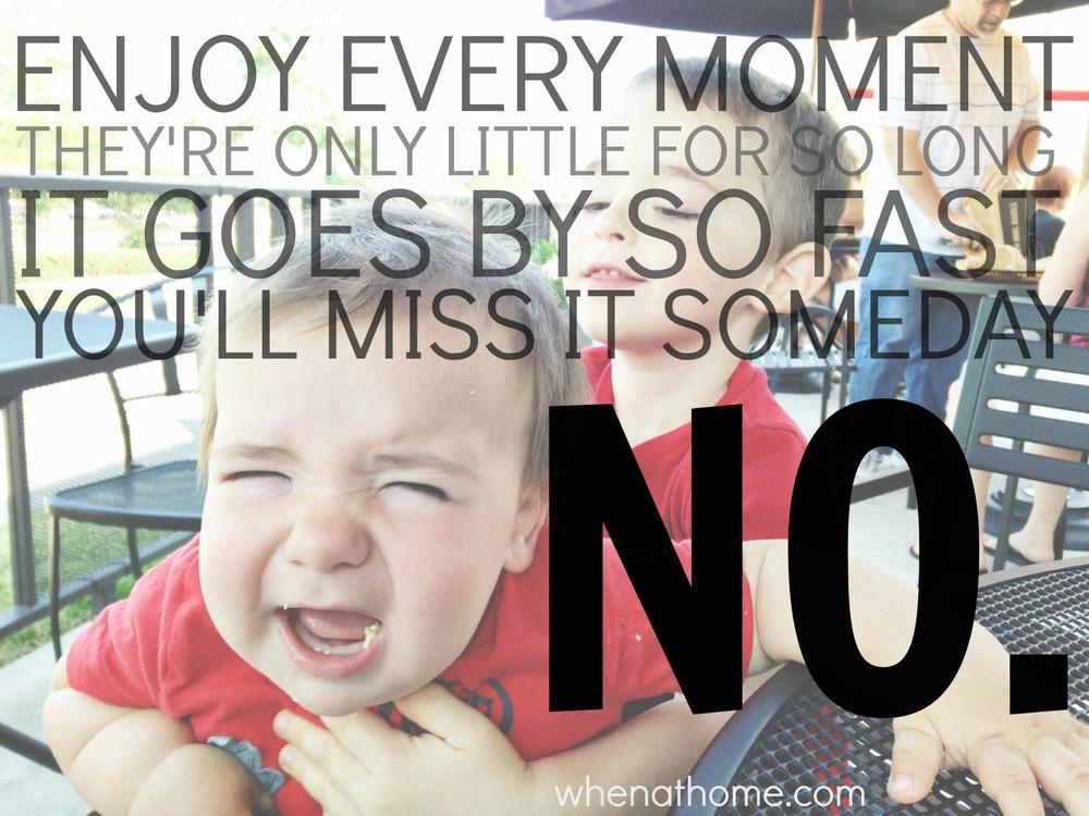 I Won't Enjoy Every Moment. .jpg