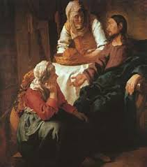 Vermeer, Christ in the House of Martha and Mary