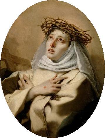 Tiepolo'sSt. Catherine of Siena