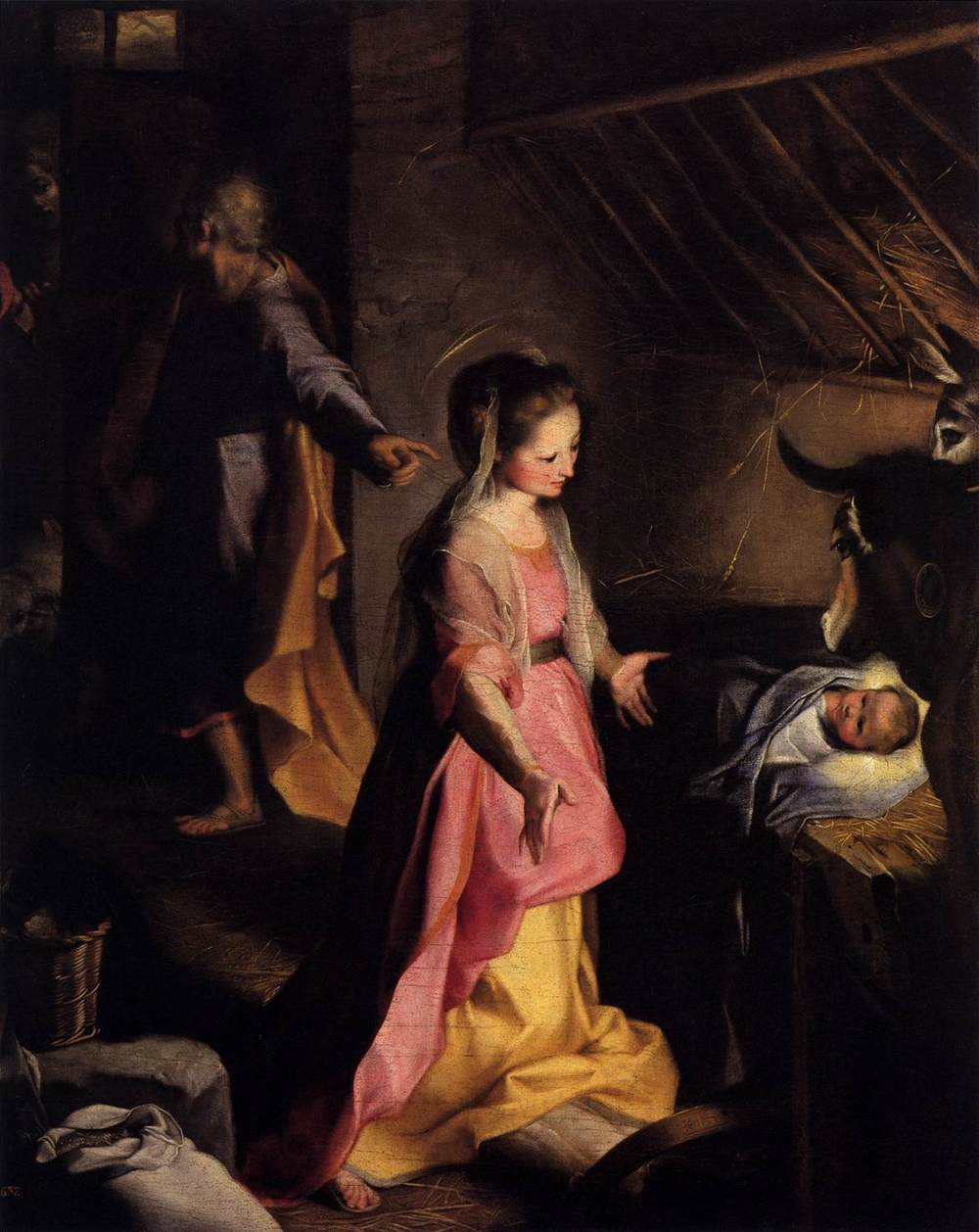 "Barocci, ""The Nativity"""
