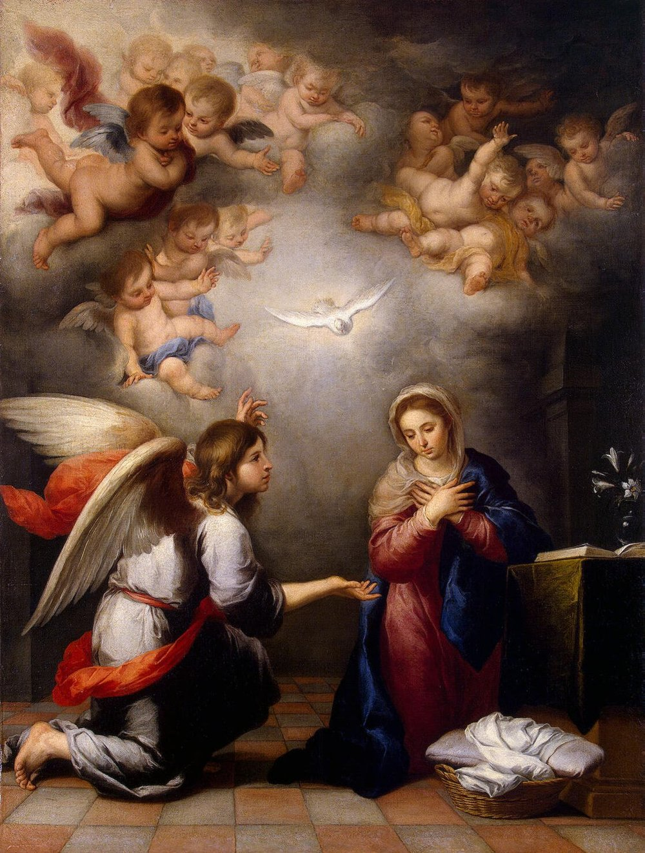 Murillo,Annunciation,1655