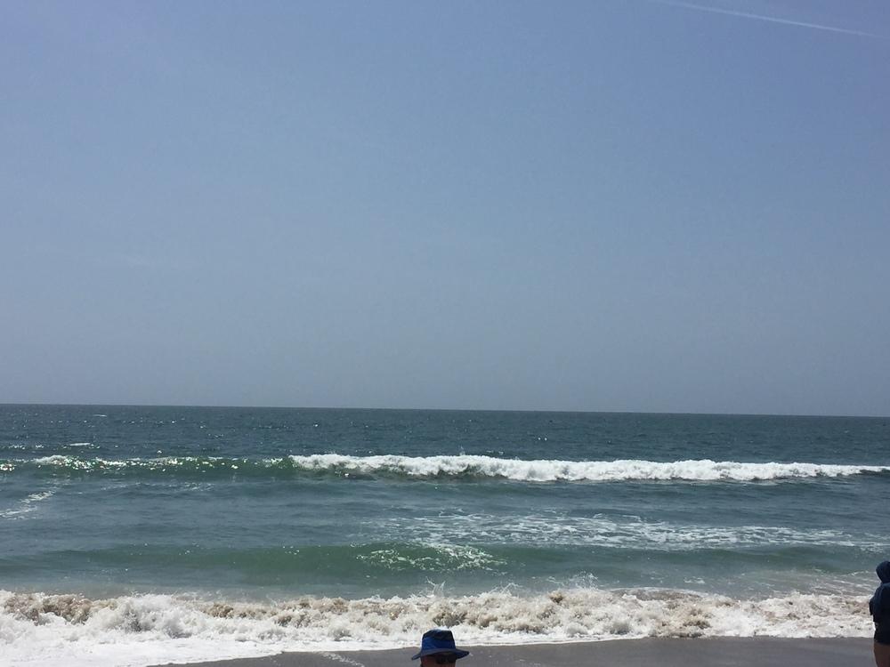 The Pacific Ocean at Santa Monica Beach