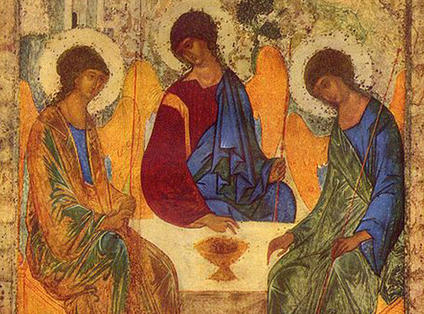 Andre Rublev,  Trinity