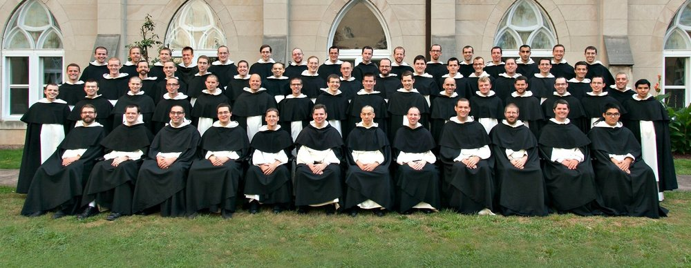 The Dominican friars in formation for the U.S. Eastern Provence.