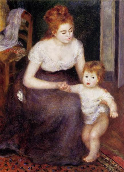 Renoir, The First Step (1876)